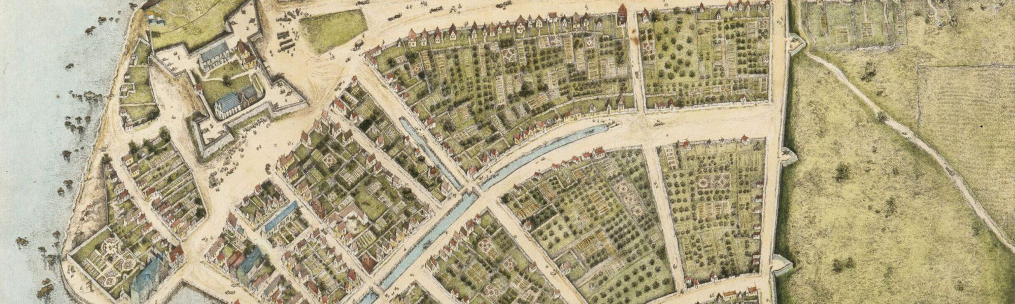 Kopie van Castello Plan, naar origineel uit 1660