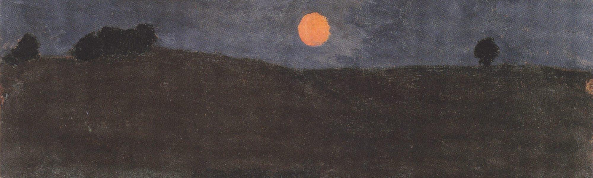 Landschap met Maan - Paula Modersohn-Becker